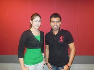 Man Khan dan Rosalinda Duet Dikir THR Gegar