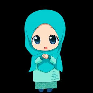 Chibi Wanita Muslimah HD oleh Taj92