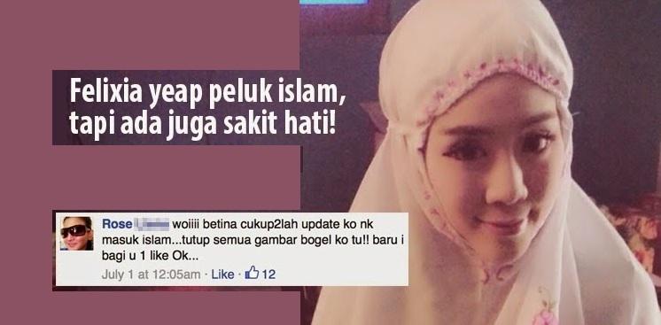 Felixia Yeap Masuk Islam