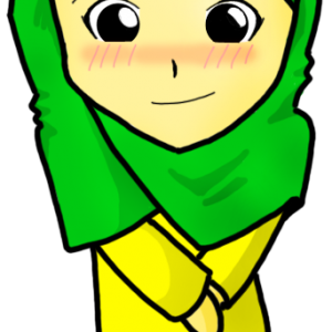 Muslimah Chibi Malu-malu