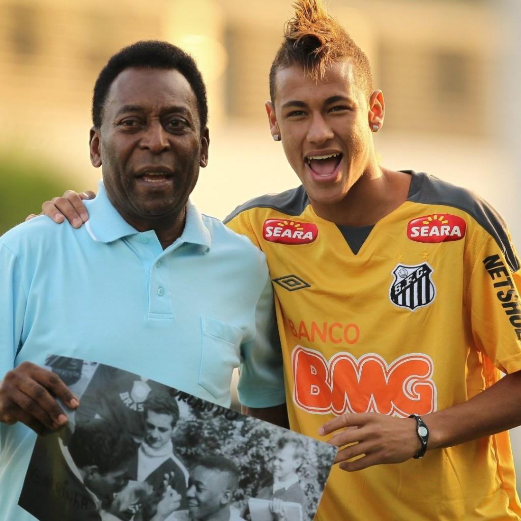 Pele dan Neymar - Dua Pemain Hebat