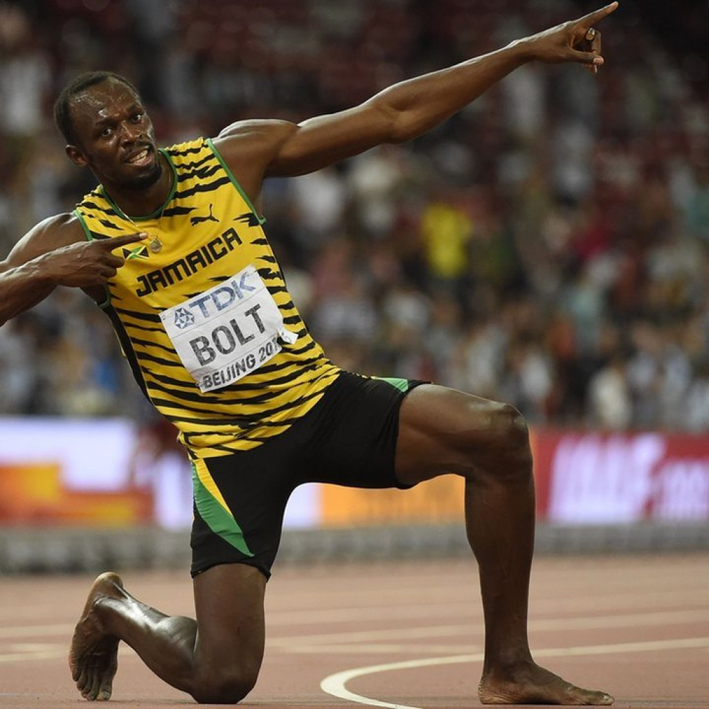 Usain Bolt Arrow