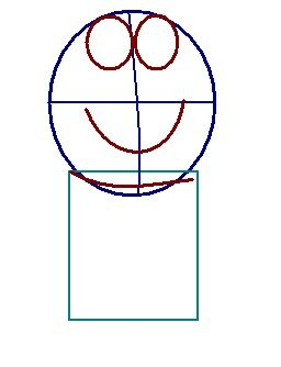 step 2 - how to draw doraemon