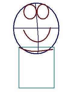 step 2 - how to draw doraemon