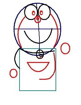 step 4 - how to draw doraemon