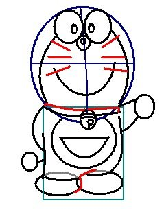 step 7 - how to draw doraemon