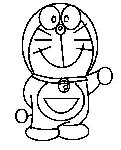 step 8 - how to draw doraemon