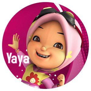 Button Badge Yaya