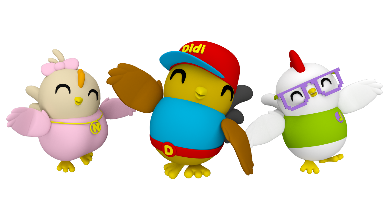 Clipart for u: Didi and friends