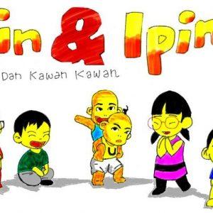 Doodle Upin & Ipin dan Kawan Kawan