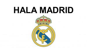 Maksud Hala Madrid!