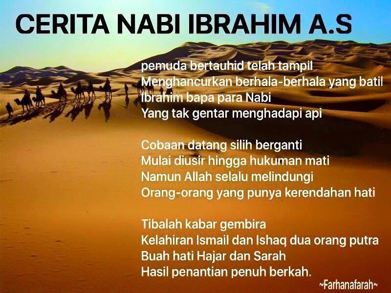 Kisah Ringkas Nabi Ibrahim