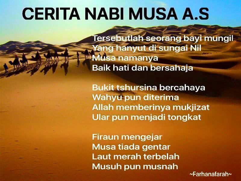 Kisah Ringkas Nabi Musa