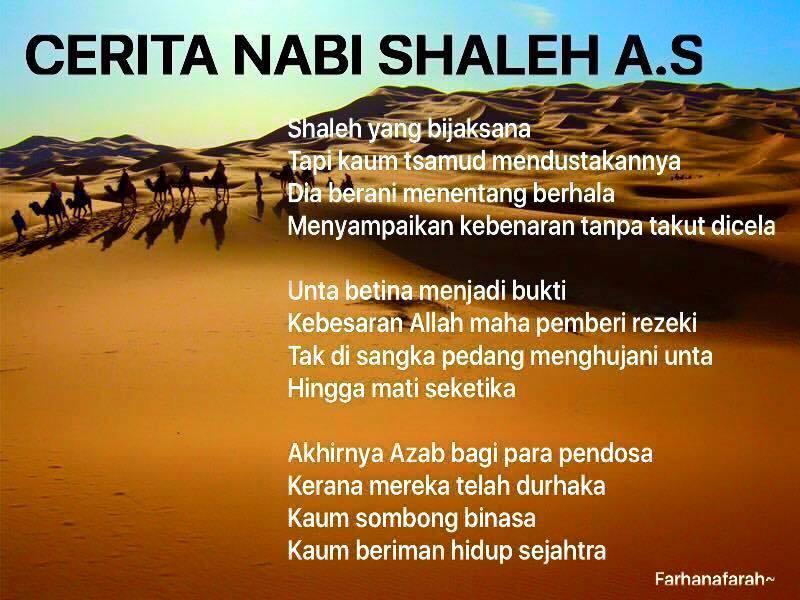 Kisah Ringkas Nabi Shaleh