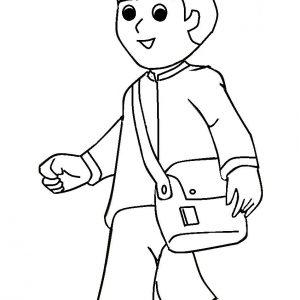 Mewarna Gambar Kartun Muslim