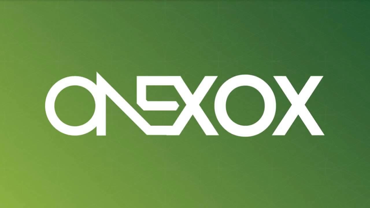 ONEXOX Logo Wallpaper
