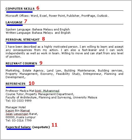 cara buat resume terbaik
