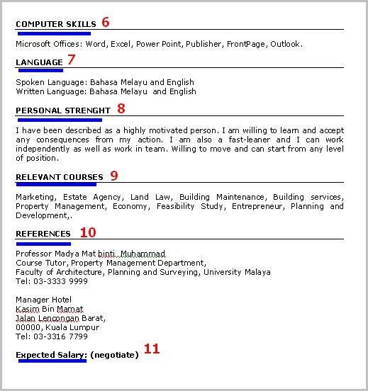 contoh resume 2