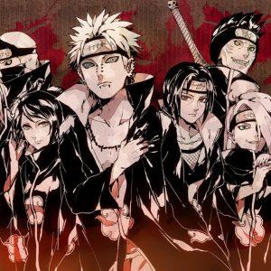 Akatsuki Naruto Poster Wallpaper