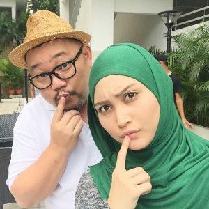 Ayda Jebat dan Michael Ang