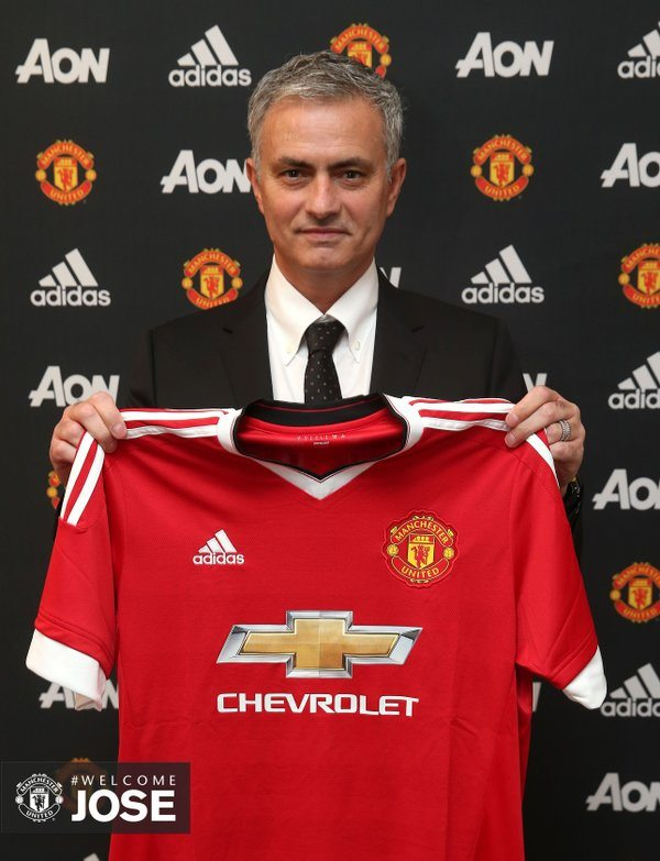 Jose Mourinho Manager Baru Man United