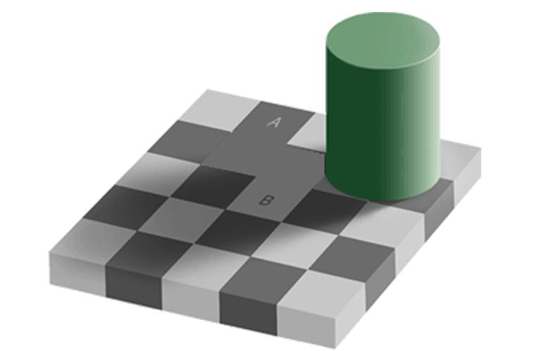 Optical Illusions - Shadow Illusion (Answer)
