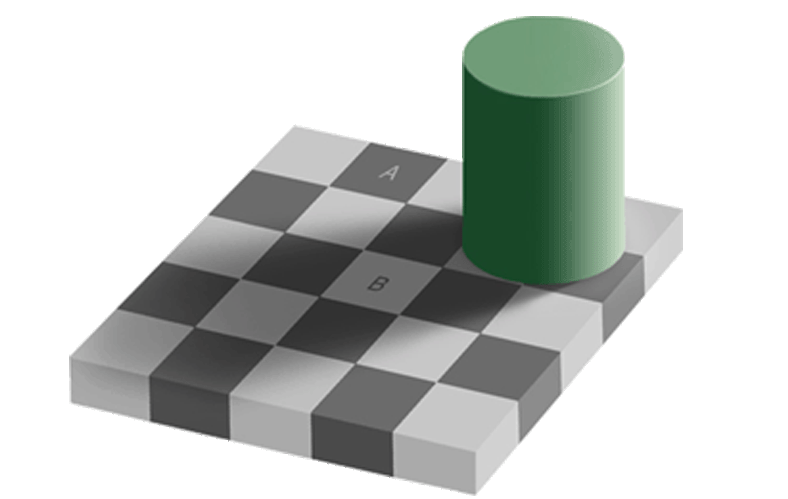 Optical Illusions - Shadow Illusion