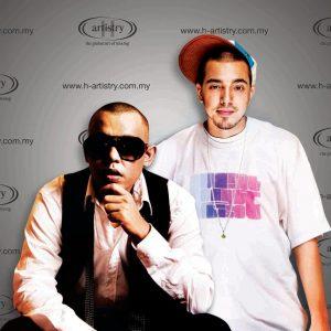 Rapper Joe Flizzow dan Sona One