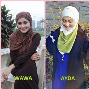 Selebriti Seiras - Ayda Jebat vs Wawa Zainal