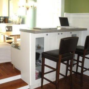 Small Budget Kitchen Bar Idea