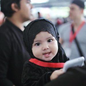 Aaisyah Dhia Comel di Mekah
