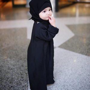 Foto Terkini Aaisyah Dhia Ranaa di Mekah