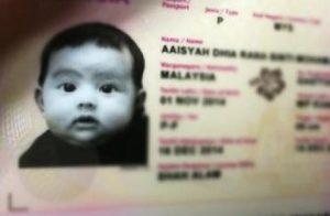 Koleksi Gambar Comel Aaisyah Dhia Rana Sejak Lahir