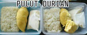 Resepi Pulut Durian Paling Sedap!