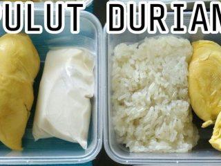 Pulut Durian Pek