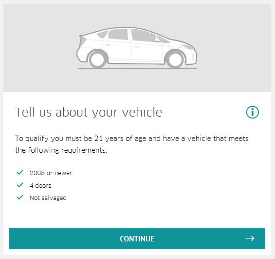 Cara Daftar Pemandu Uber - Step 3