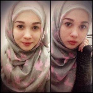 Emma Maembong Cantik, anggun, muslimah