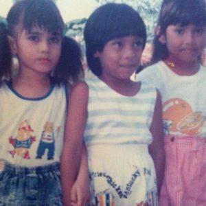 Fasha sandha (Kiri) ketika umur 5 tahun