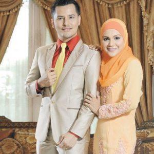 Gambar Dato Aliff Syukri dan Isteri