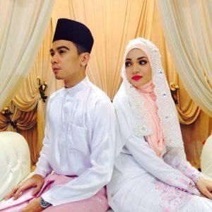 Gambar Perkahwinan Amar Baharin dan Amyra Rosli - Sama Cantik