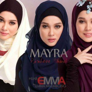 Jenama Tudung Hijab Emma Maembong