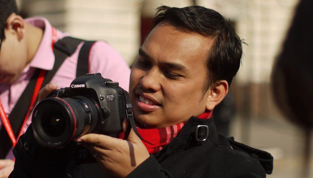 Jurufoto Jutawan Saiful Nang