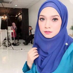 Ruhainies Cute Hijab Biru