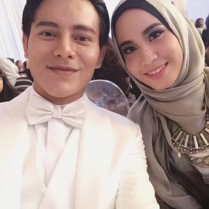 Sweet Couple Nazim Othman dan Bella Dally