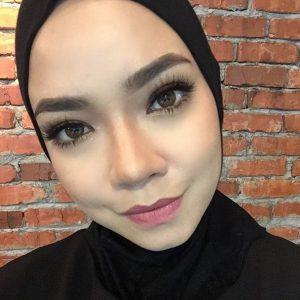 Close Up Wajah Cantik Nora Danish