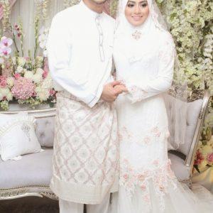 Gambar Kahwin Fizo Omar dan Mawar