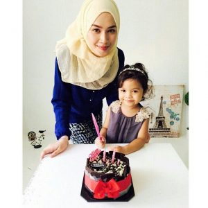 Niena Baharun Sambut Birthday Budak Kecik