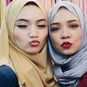 Nora Danish Buat Duck Face
