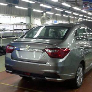 Proton Saga 2016 Bahagian Belakang