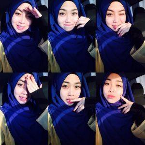 Tasha Manshahar Aksi Selfie